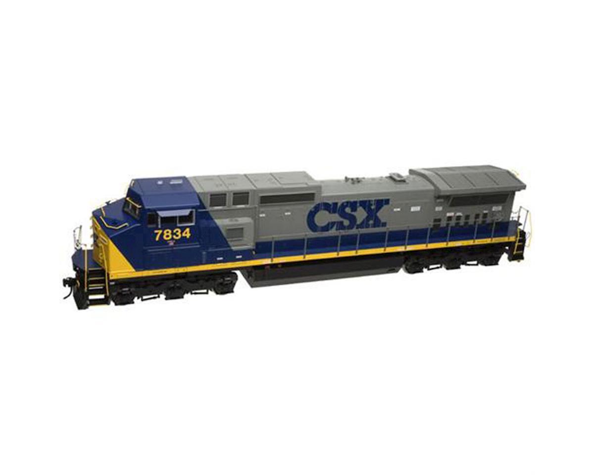 Atlas O O TrainMan Dash 8-40CW w/DCC, CSX/YN2 #7834 (2R)