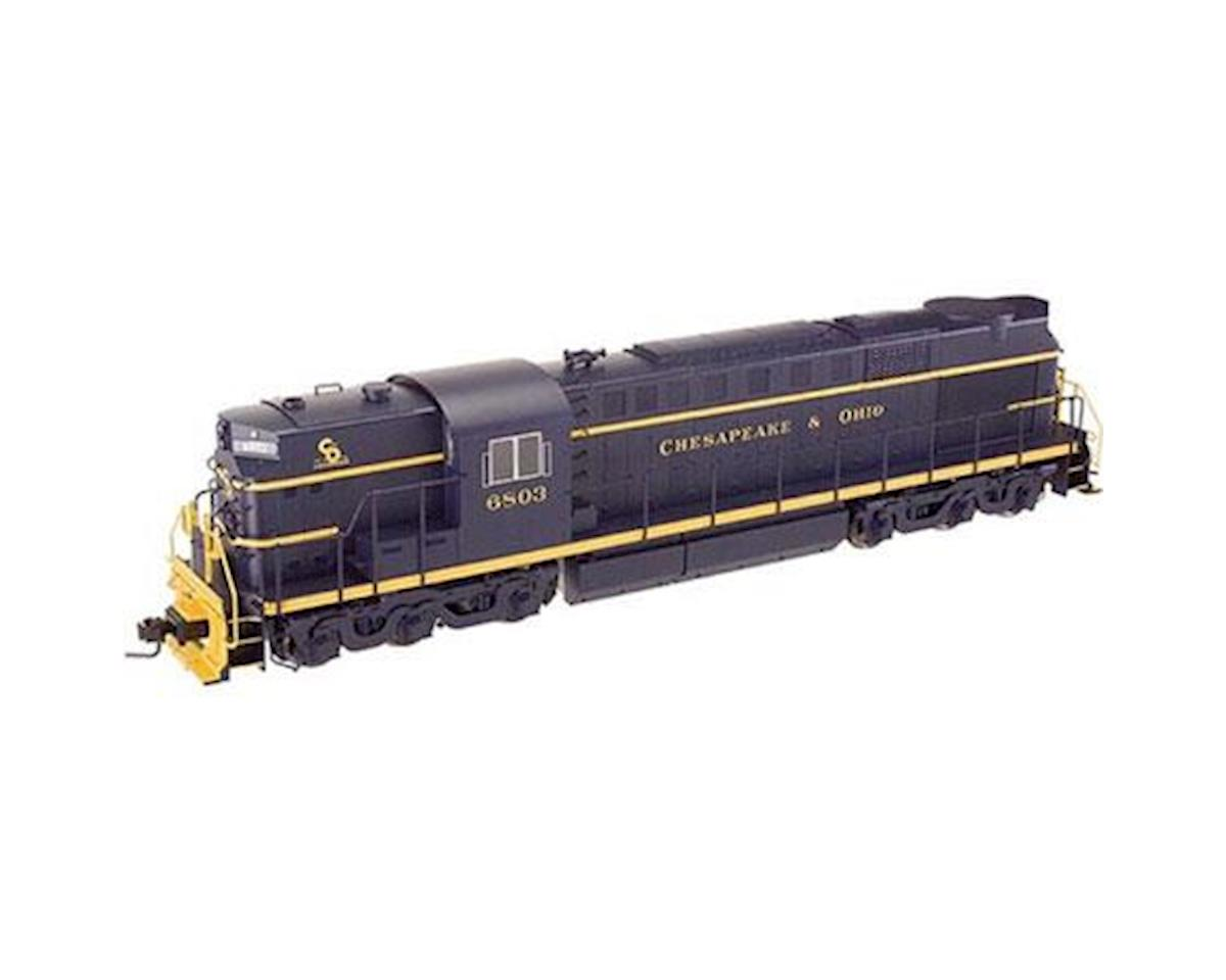 Atlas O O Trainman RSD7/15 w/DCC & Sound, C&O #6809 (2R)