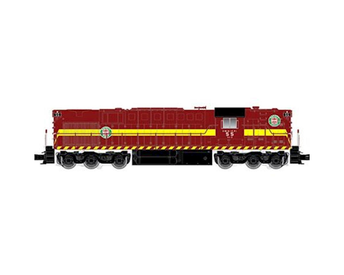 Atlas O O Trainman RSD7/15 w/DCC & Sound, DM&IR #55 (2R)