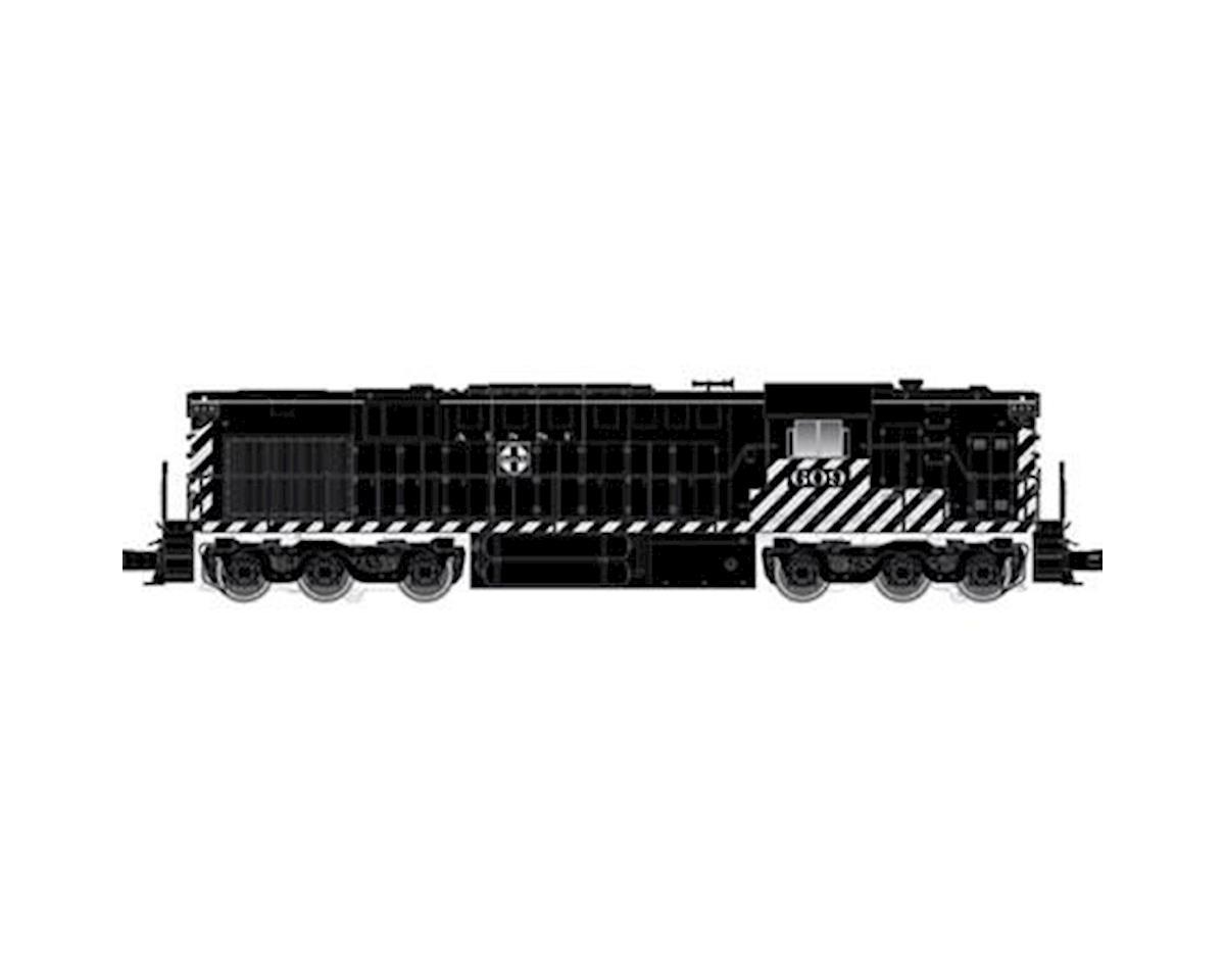 Atlas O O Trainman RSD7/15 w/DCC & Sound, SF #604 (2R)