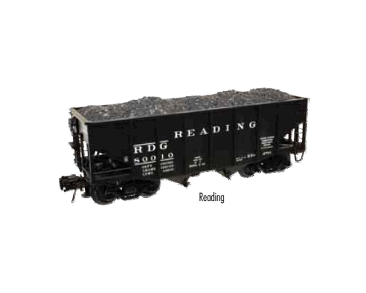 Atlas O O 55-Ton Fishbelly Coal Hopper, RDG