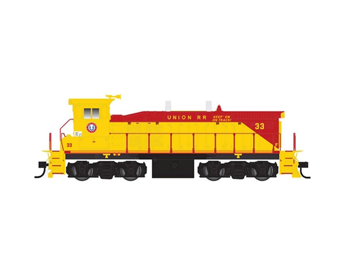 Atlas O O MP15DC w/DCC & Sound, Union Railroad #33 (2R)