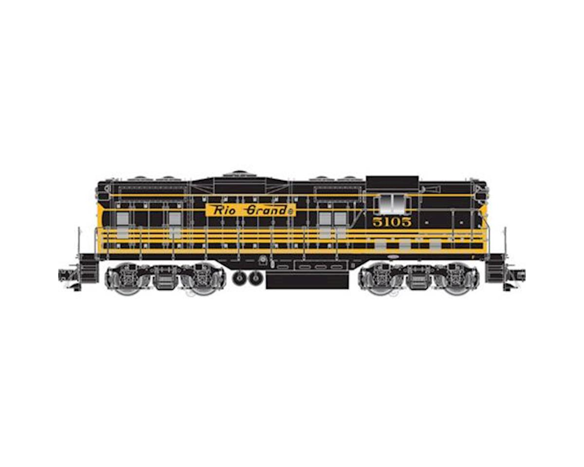 Atlas O O GP7 Phase II w/DCC & Sound, D&RGW #5111 (2R)