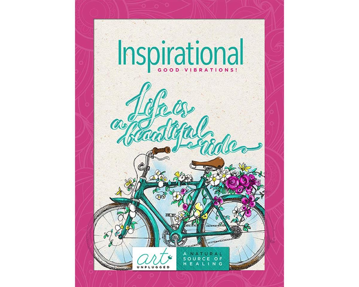 Art Unplugged Nature 1940899044 Inspirational -Good Vibrations Coloring Book