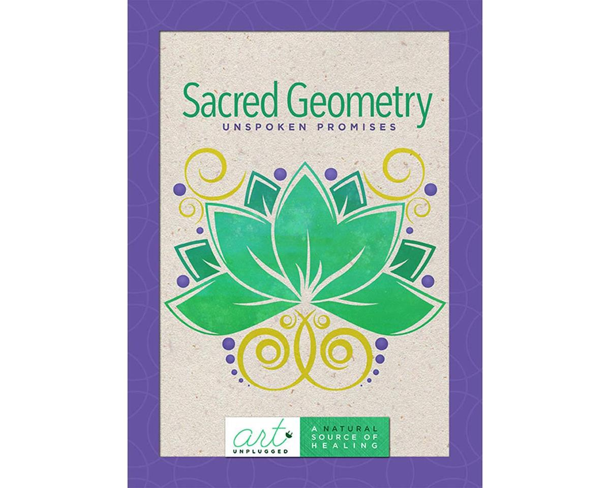 Art Unplugged Nature 1940899079 Sacred Geometry Coloring Book