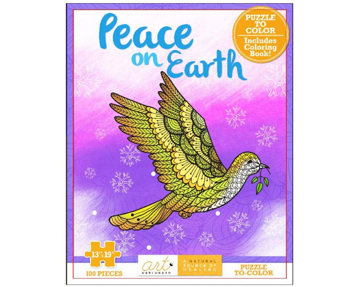 1940899265 Peace Coloring Puzzle by Art Unplugged Nature