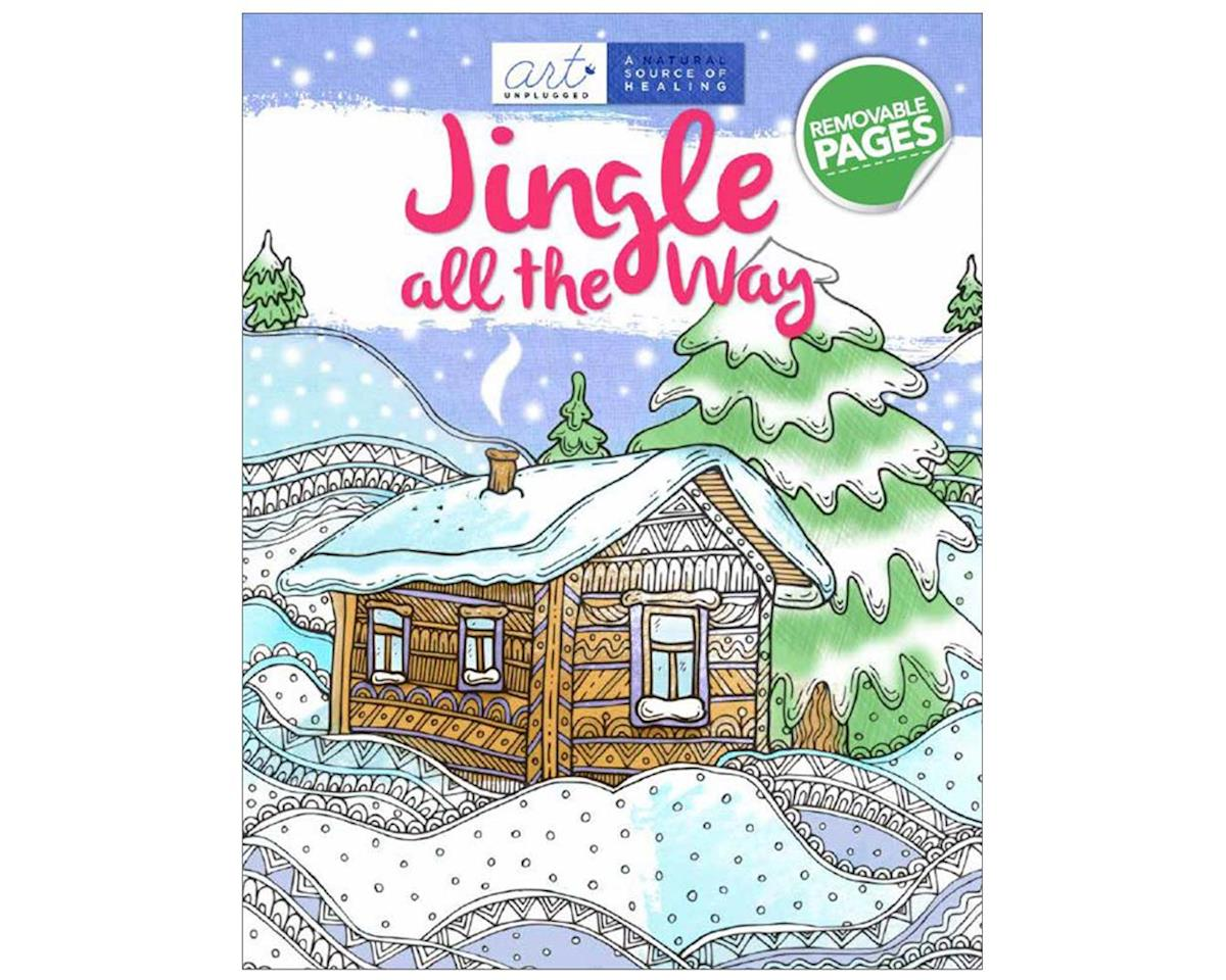 Art Unplugged Nature 1940899281 Jingle All The Way Color Book