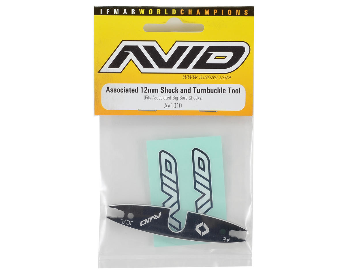 Avid RC Associated 12mm Shock & Turnbuckle Tool
