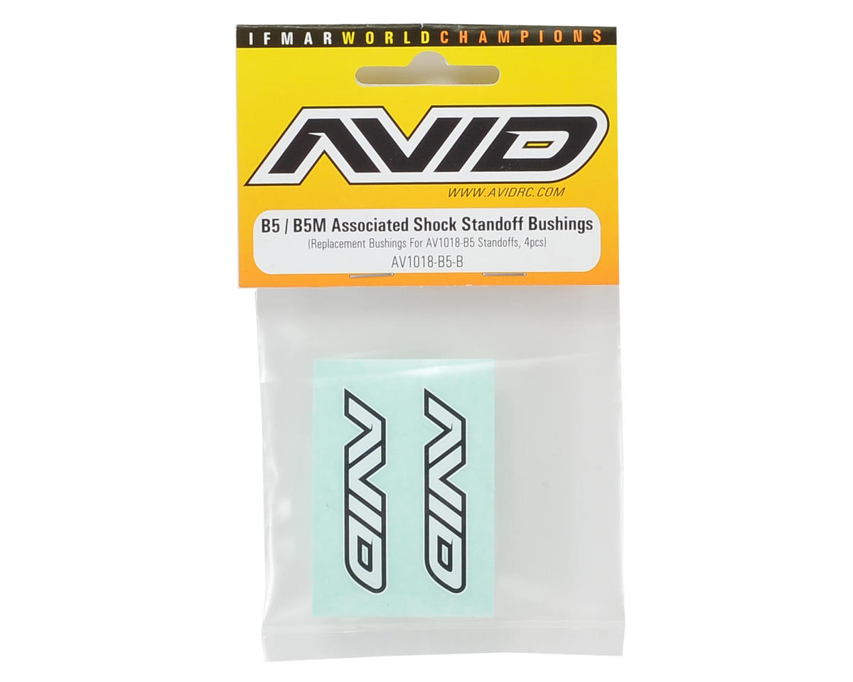 B5/B5M Shock Standoff Delrin Bushing (4) by Avid RC