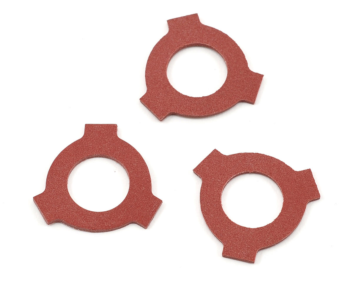Triad Drive Pad Set (Red) (3) by Avid RC