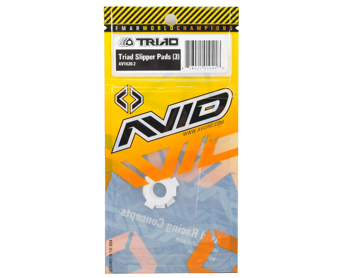 Triad Drive Pad Set (3) by Avid RC