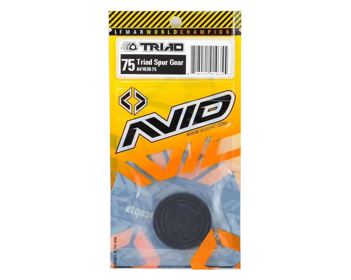 Triad 48P Spur Gear (75T) by Avid RC