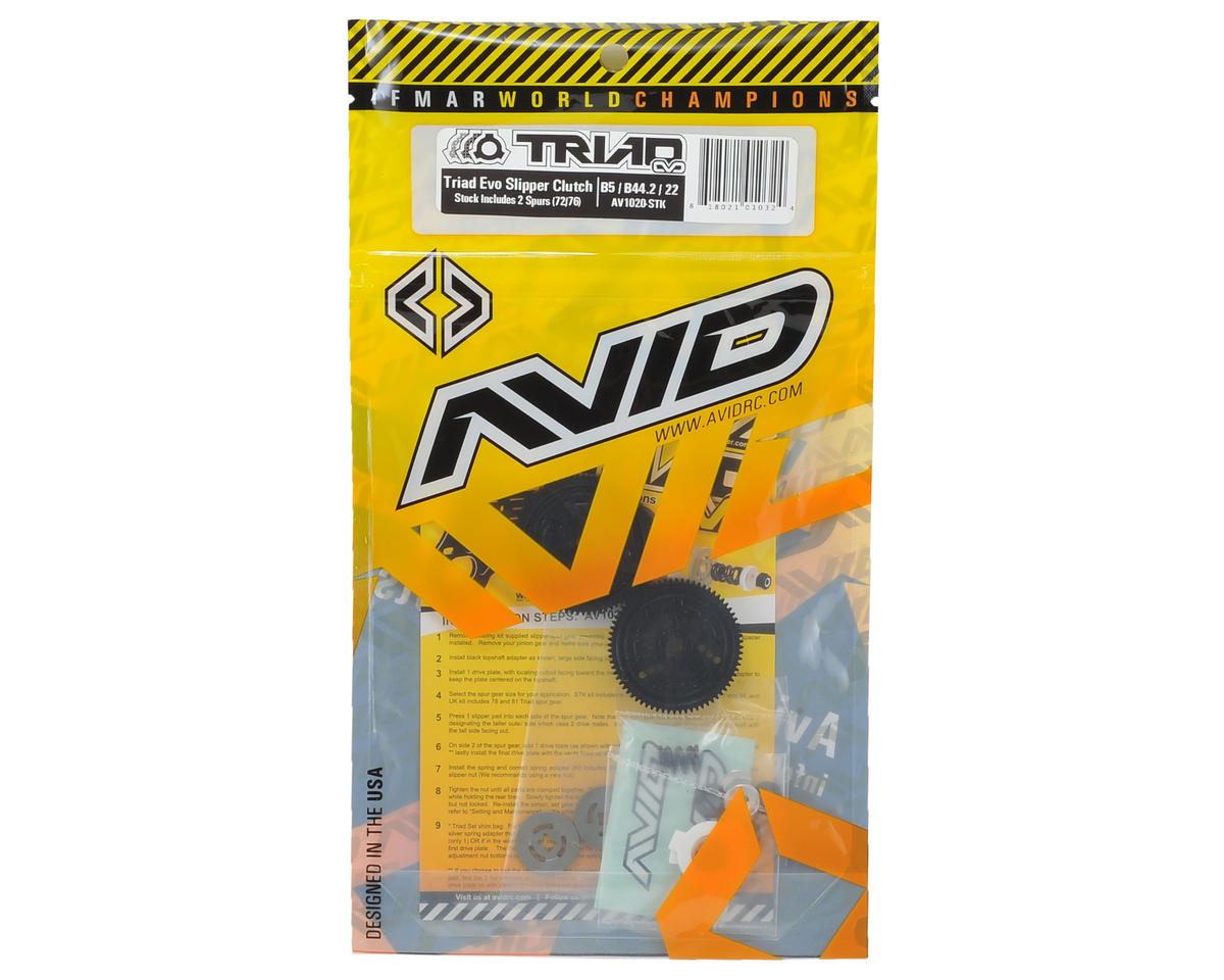 "Avid RC ""Stock"" Triad Slipper Clutch (72T/76T)"