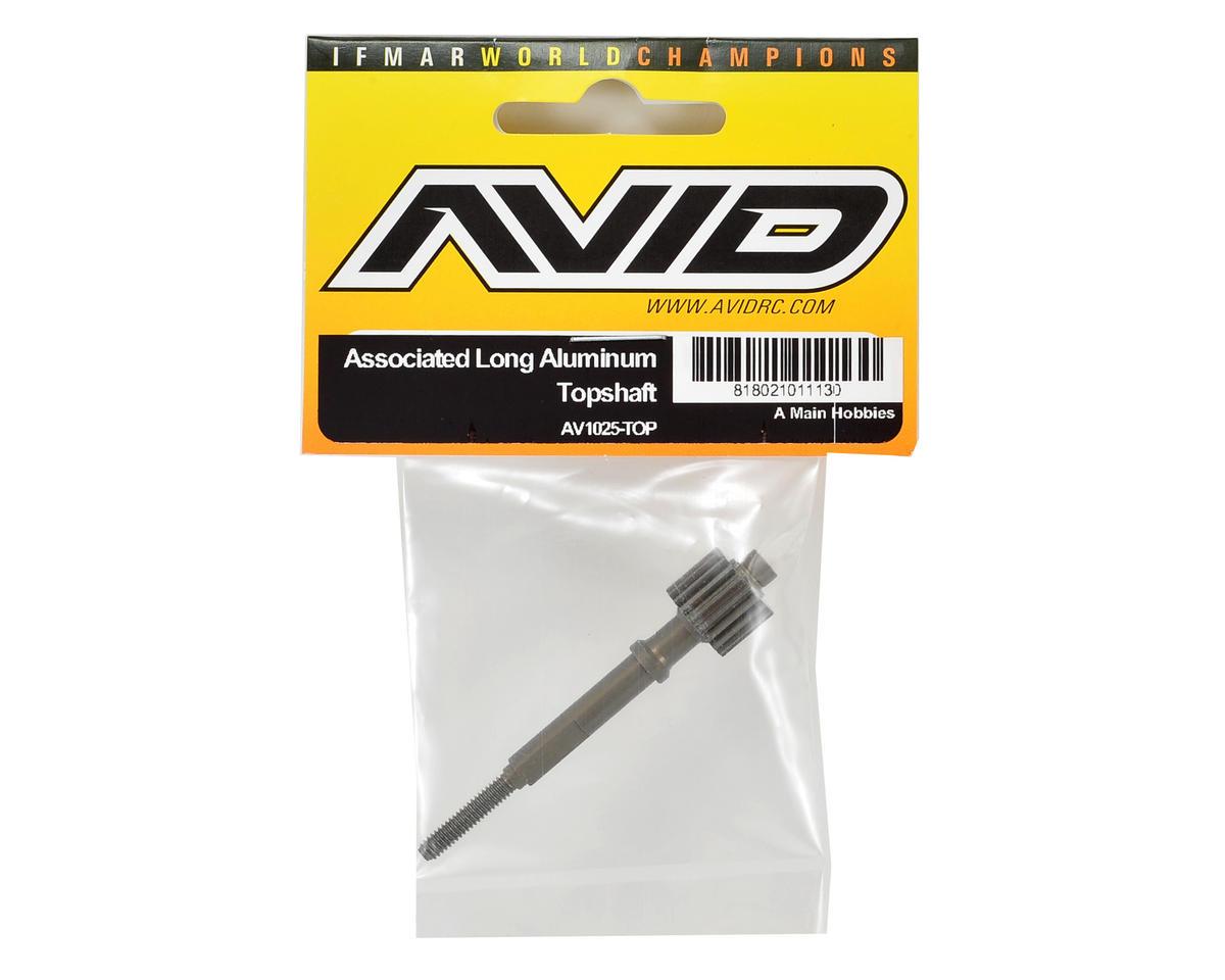 Avid RC Associated Long Aluminum Topshaft