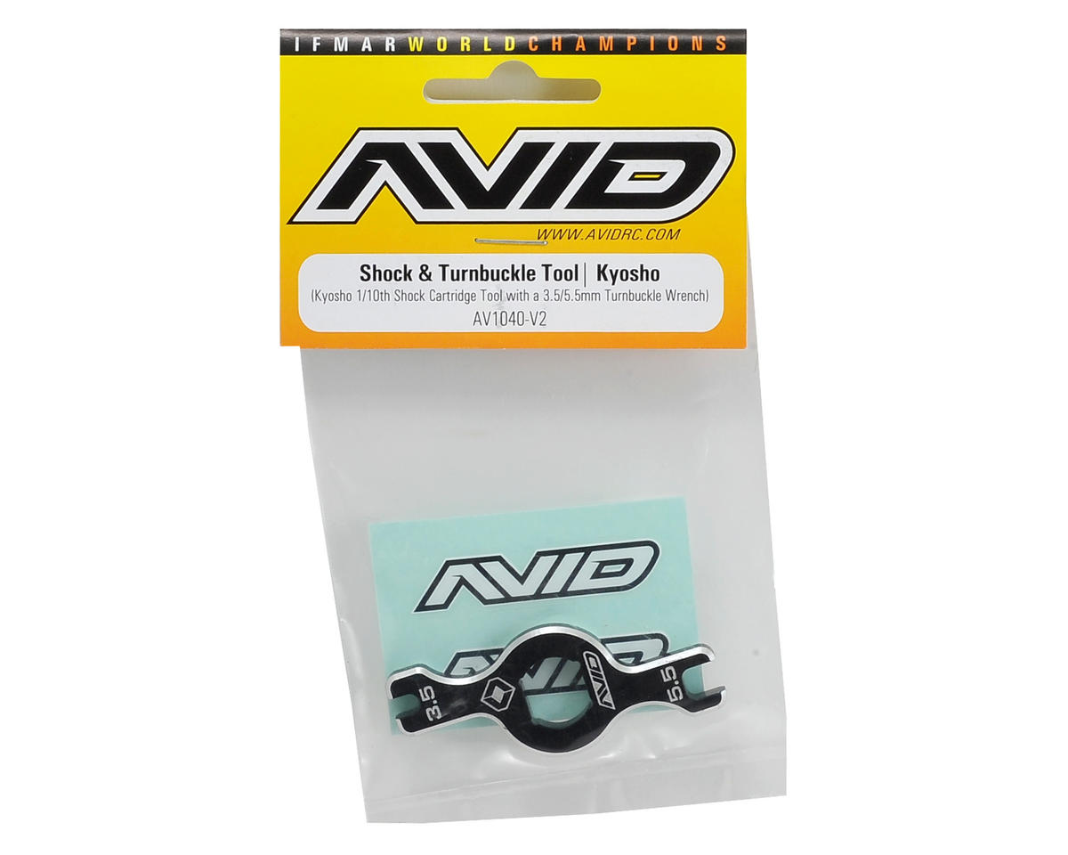 Kyosho Shock & Turnbuckle Tool by Avid RC