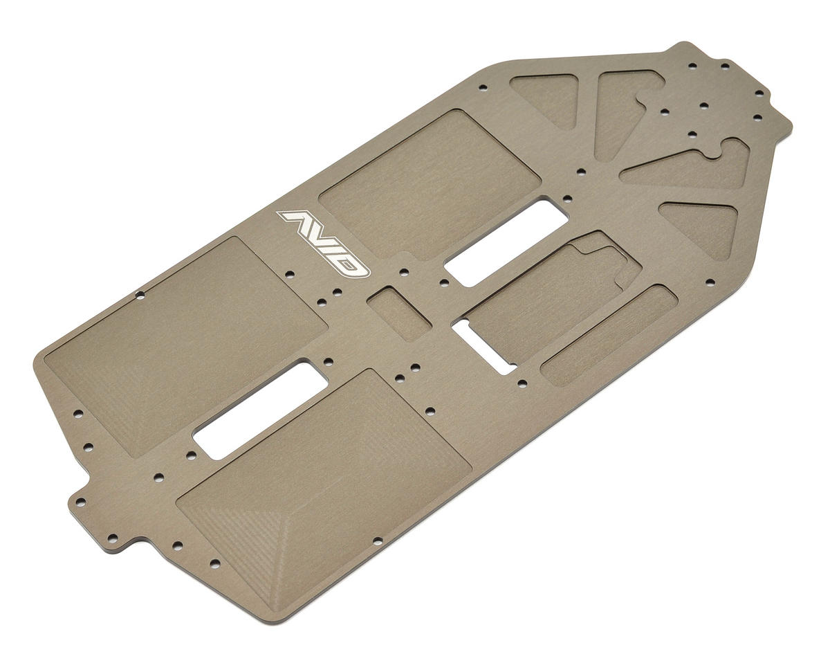 Avid rc b44 2 aluminum chassis set avd1044 442 set for Chassis aluminium