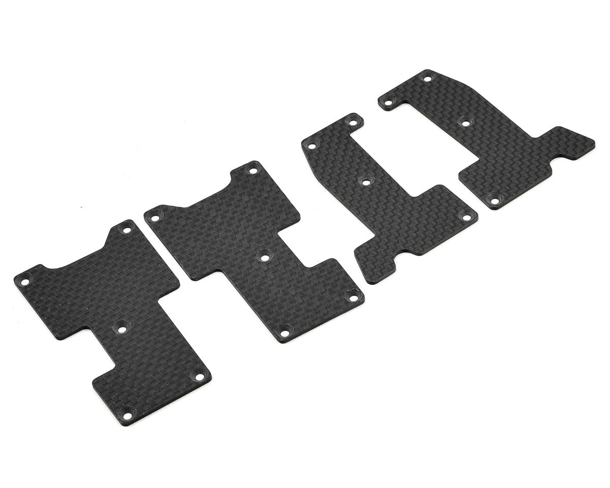 Avid RC Hot Bodies D815/D812 Carbon Arm Insert Set (0.75mm)