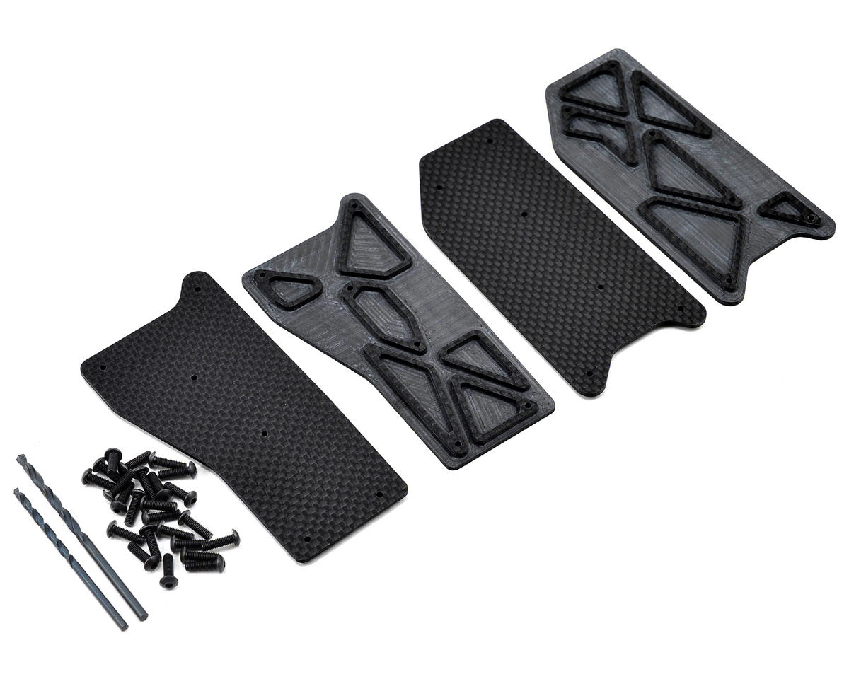 2.0mm D8T Carbon Arm Insert Set by Avid RC