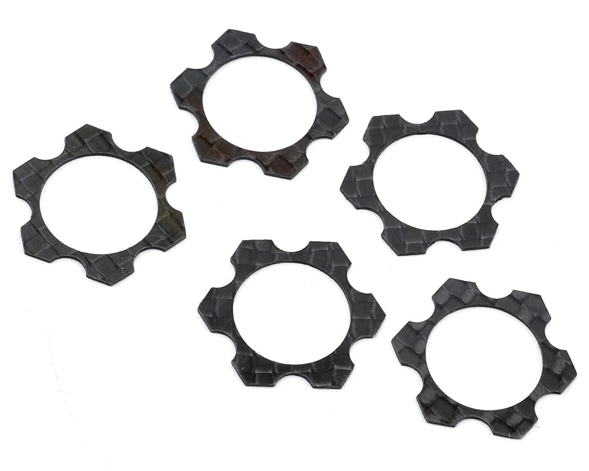 Avid RC 1/8 Carbon 0.5mm Track Width Spacers (5)
