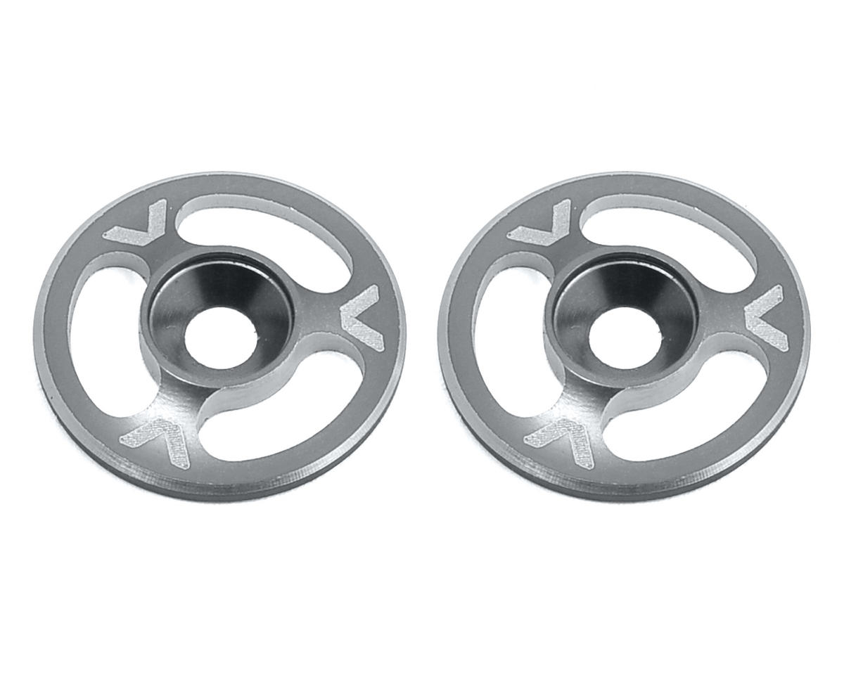 Avid RC Triad Wing Mount Buttons (2) (Hard Anodized) (S-Workz S350 BK1 EVO)