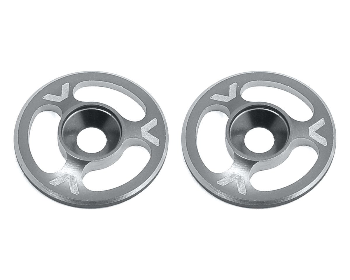 Triad Wing Mount Buttons (2) (Hard Anodized) by Avid RC