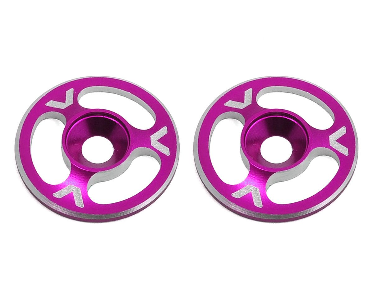 Avid RC Triad Wing Mount Buttons (2) (Pink) (HB Racing Ve8)