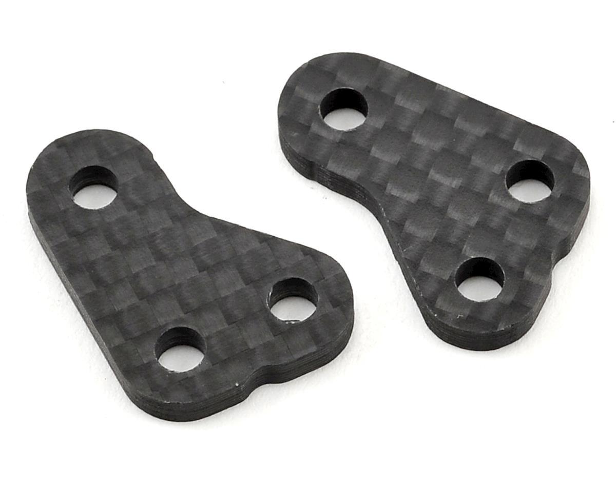 B6/B6D Carbon Fiber +1 Steering Block Arms (2) by Avid RC