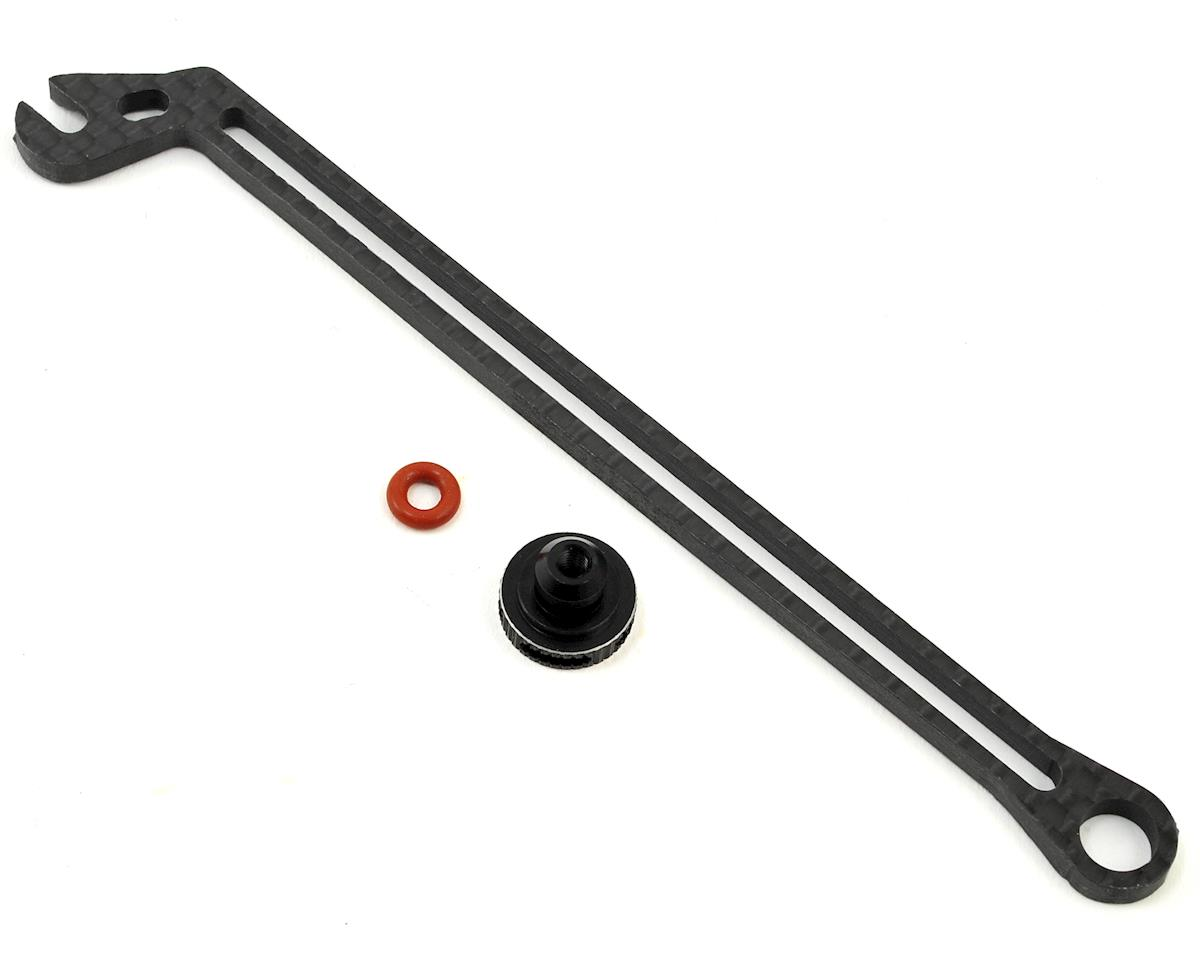 B64 Carbon Battery Brace w/Thumbwheel