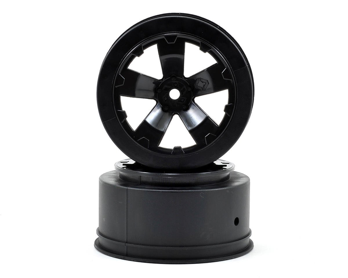 Avid RC Sabertooth Short Course Wheels w/3mm Offset (Black) (2) (SC5M) | relatedproducts