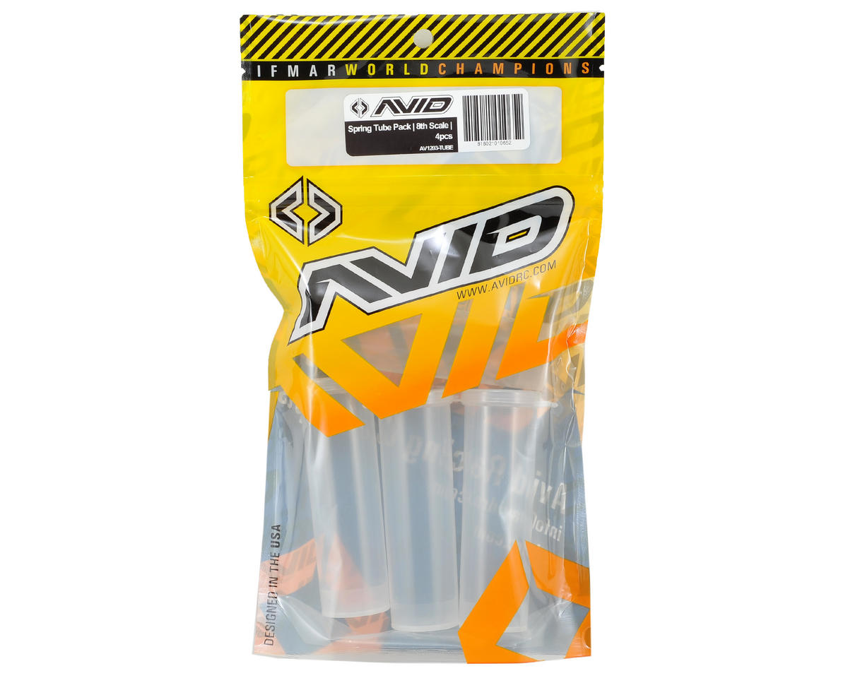 1/8 Spring Tube Pack (4) by Avid RC