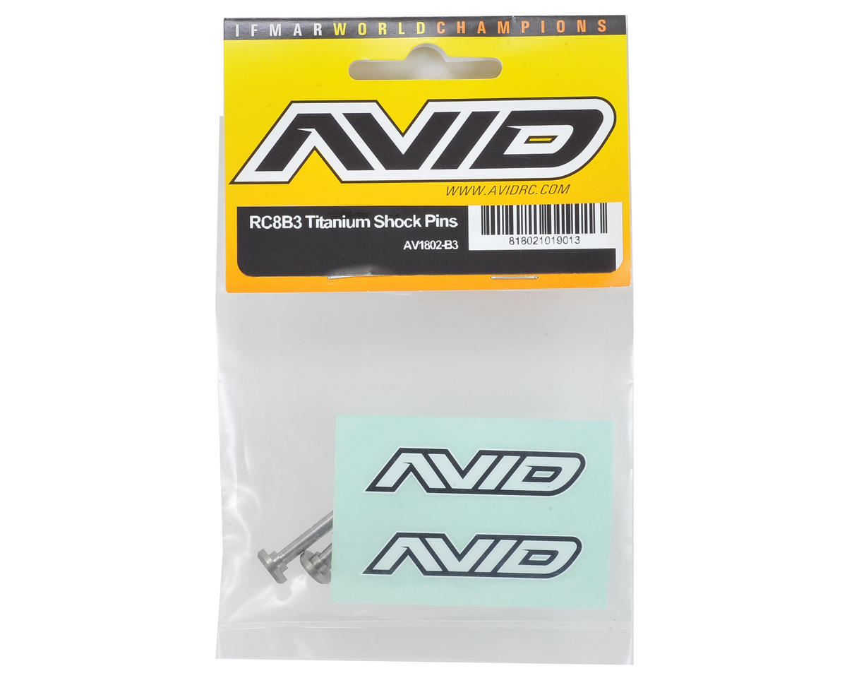 Avid RC RC8B3 Titanium Shock Mount Pin (4)