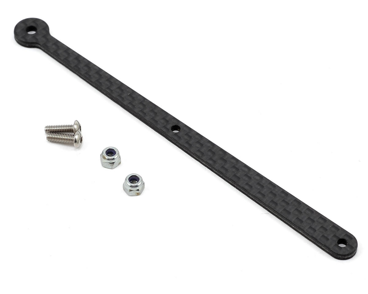 Avid RC RC8.2 Carbon Rear Chassis Brace Support