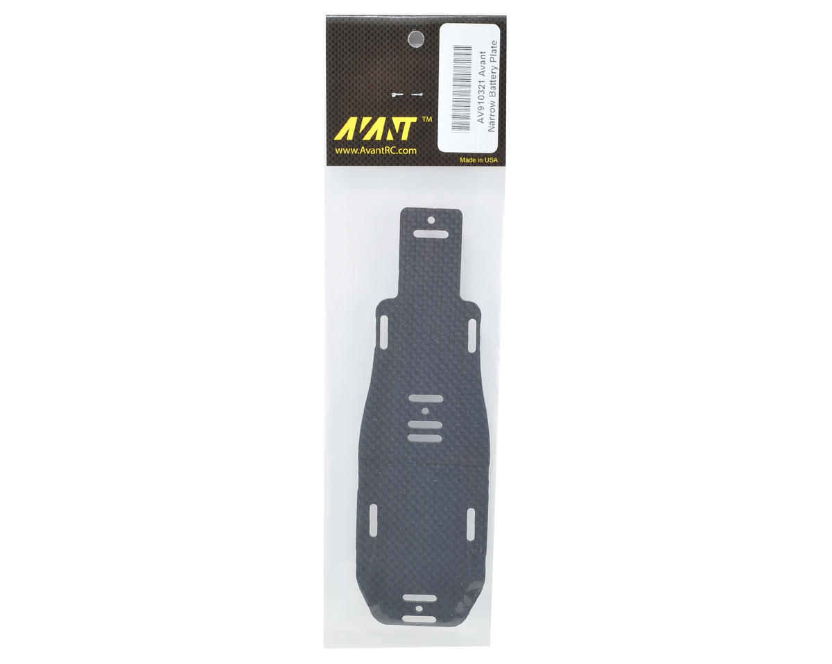 Avant Narrow Battery Plate