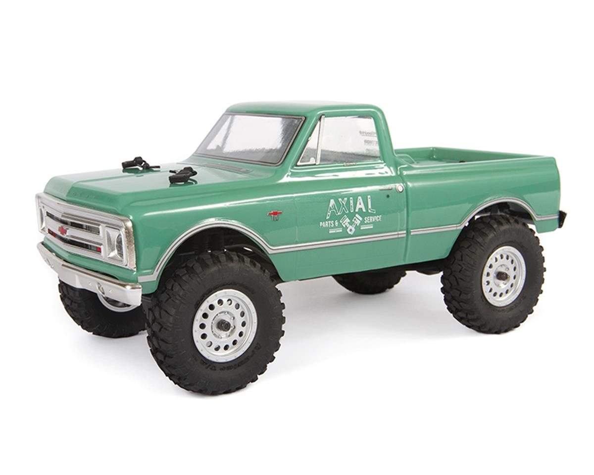 Axial SCX24 1967 Chevrolet C10 1/24 4WD RTR Scale Mini Crawler (Green) | relatedproducts