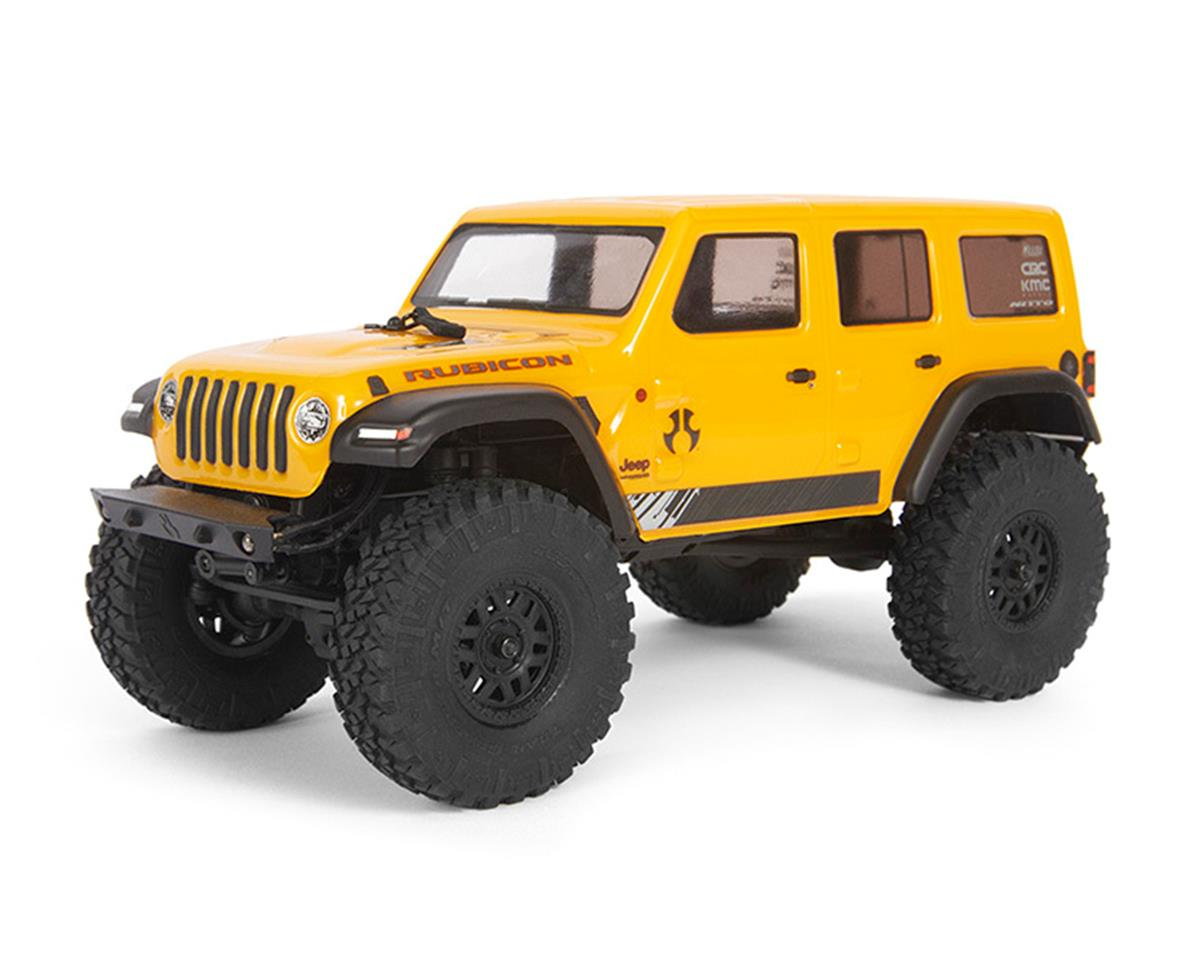 Axial SCX24 2019 Jeep Wrangler JLU CRC 1/24 4WD RTR Scale Mini Crawler (Yellow)