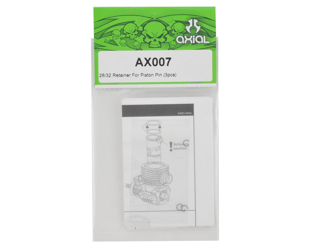 Axial Racing Wrist Pin Clip Set (3)