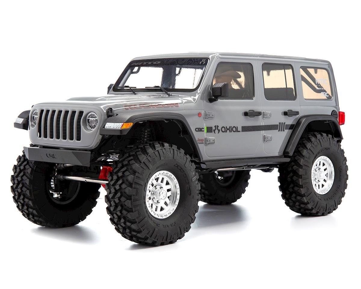 Axial SCX10 III Jeep JLU Wrangler RTR 4WD Rock Crawler (Grey) AXI03003T1