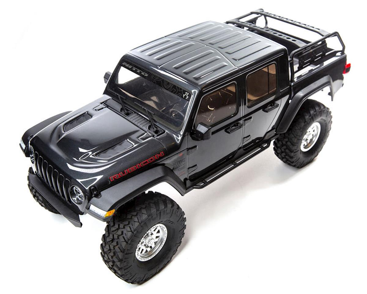 Axial SCX10 III Jeep JT Gladiator RTR 4WD Rock Crawler Grey with Portals & DX3 2.4GHz Radio AXI03006T1