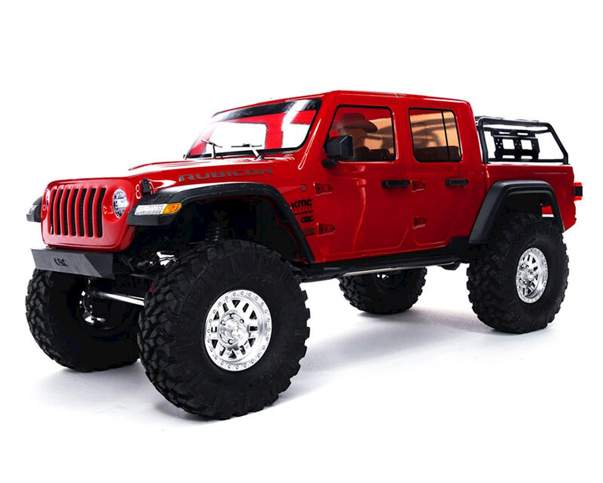 Axial SCX10 III Jeep JT Gladiator RTR 4WD Rock Crawler Red with Portals & DX3 2.4GHz Radio AXI03006T2