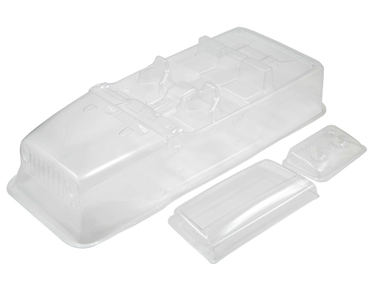 2012 Jeep Wrangler Unlimited Rubicon Complete Body Set (Clear) by Axial Racing
