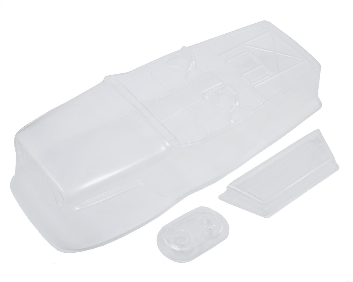 "Axial Racing Jeep Wrangler .040"" Rock Racer Body (Clear)"