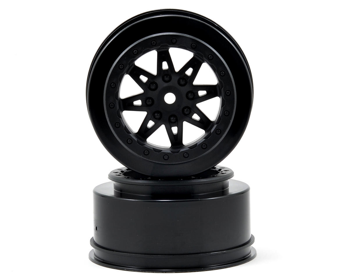 Axial Racing Raceline Renegade Wheels (Black) (2) (41mm Wide) (EXO/SCORE)