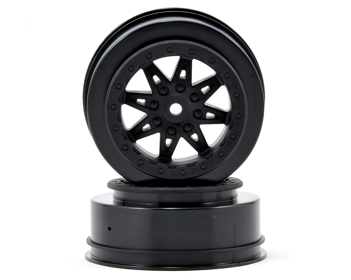Axial Racing Raceline Renegade Wheels (Black) (2) (34mm Wide) (EXO Front)