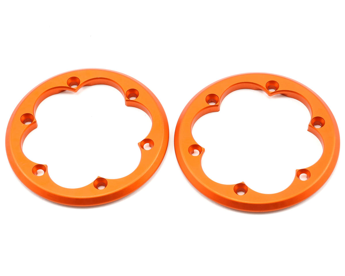 Axial 2.2 VWS Machined Beadlock Ring Set (Orange) (2)