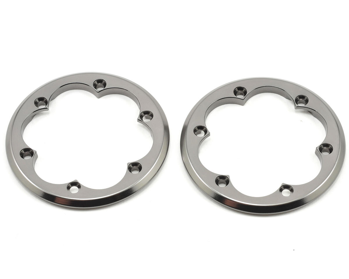 2.2 VWS Machined Beadlock Ring (Grey) (2) by Axial