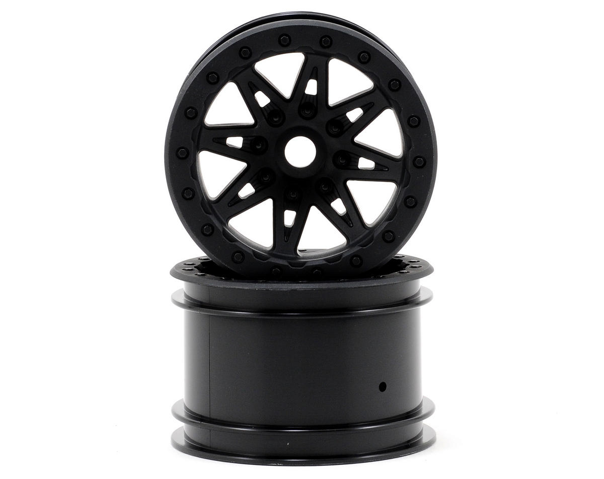 "Axial Raceline Renegade 41mm Wide 2.2"" Rock Crawler Wheels (2) (Black)"