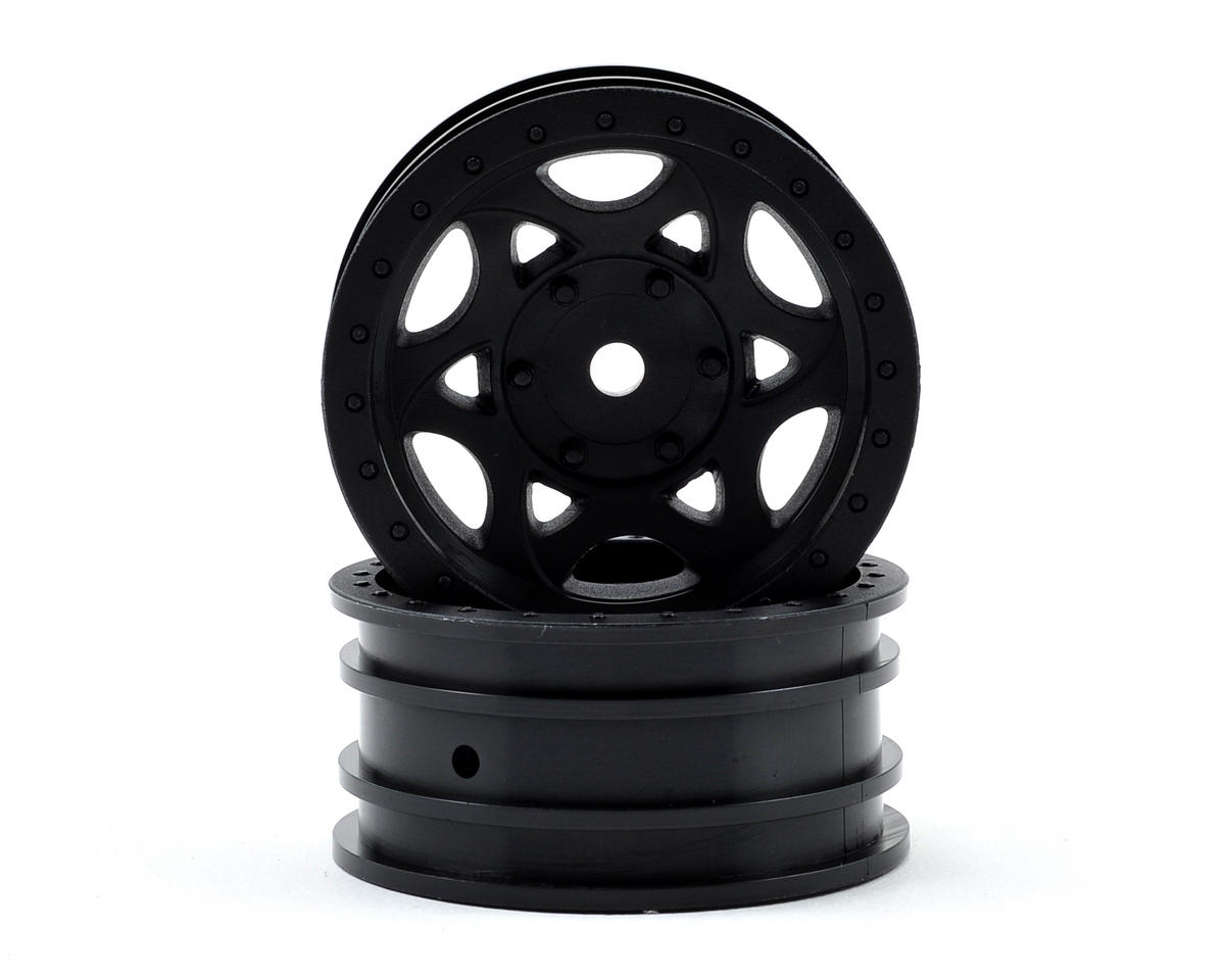 "Axial Racing Walker Evans Street 1.9"" Rock Crawler Wheels (2) (Black)"