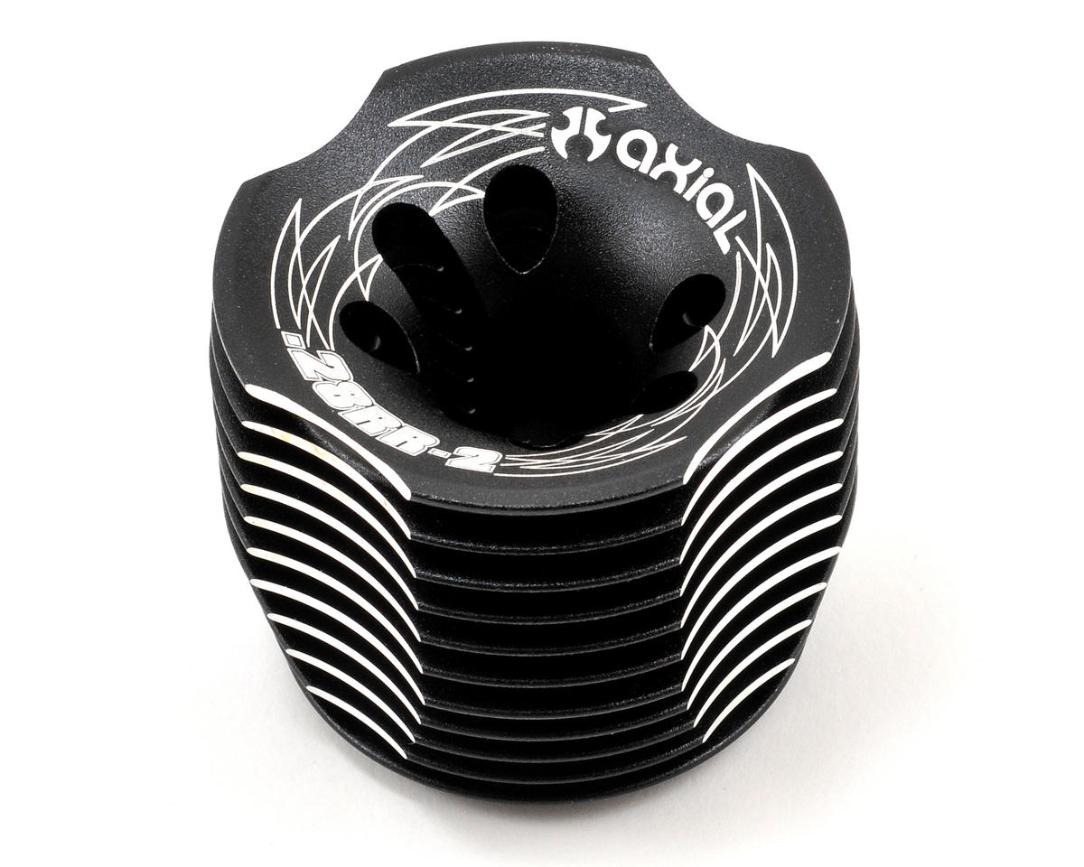 Axial .28RR-2 Racing Heat Sink Head (Black)