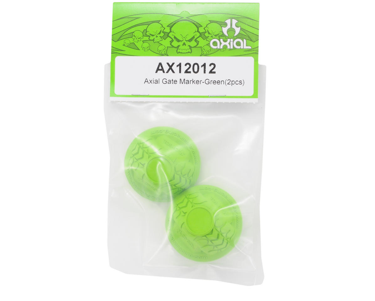 Axial Racing Micro Gate Marker (Green) (2)