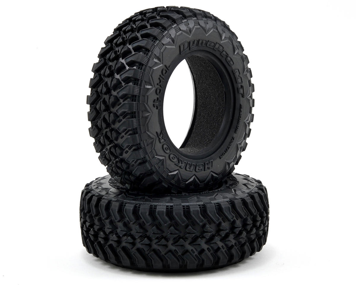 Axial Racing 2.2/3.0 34mm Hankook MT Front Tires (2)